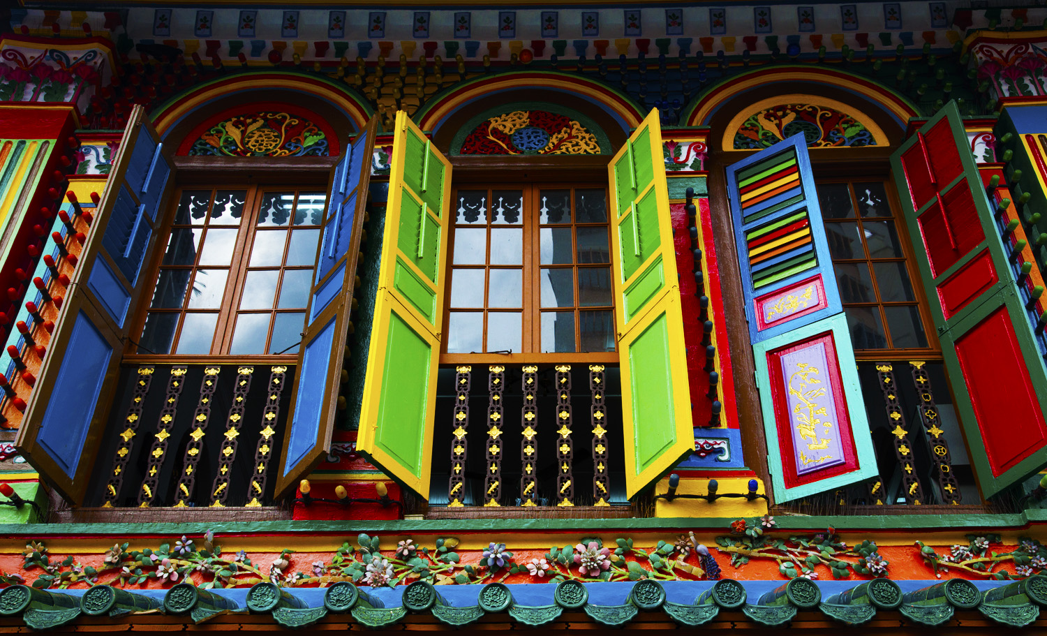 Shophouse Window - Little India