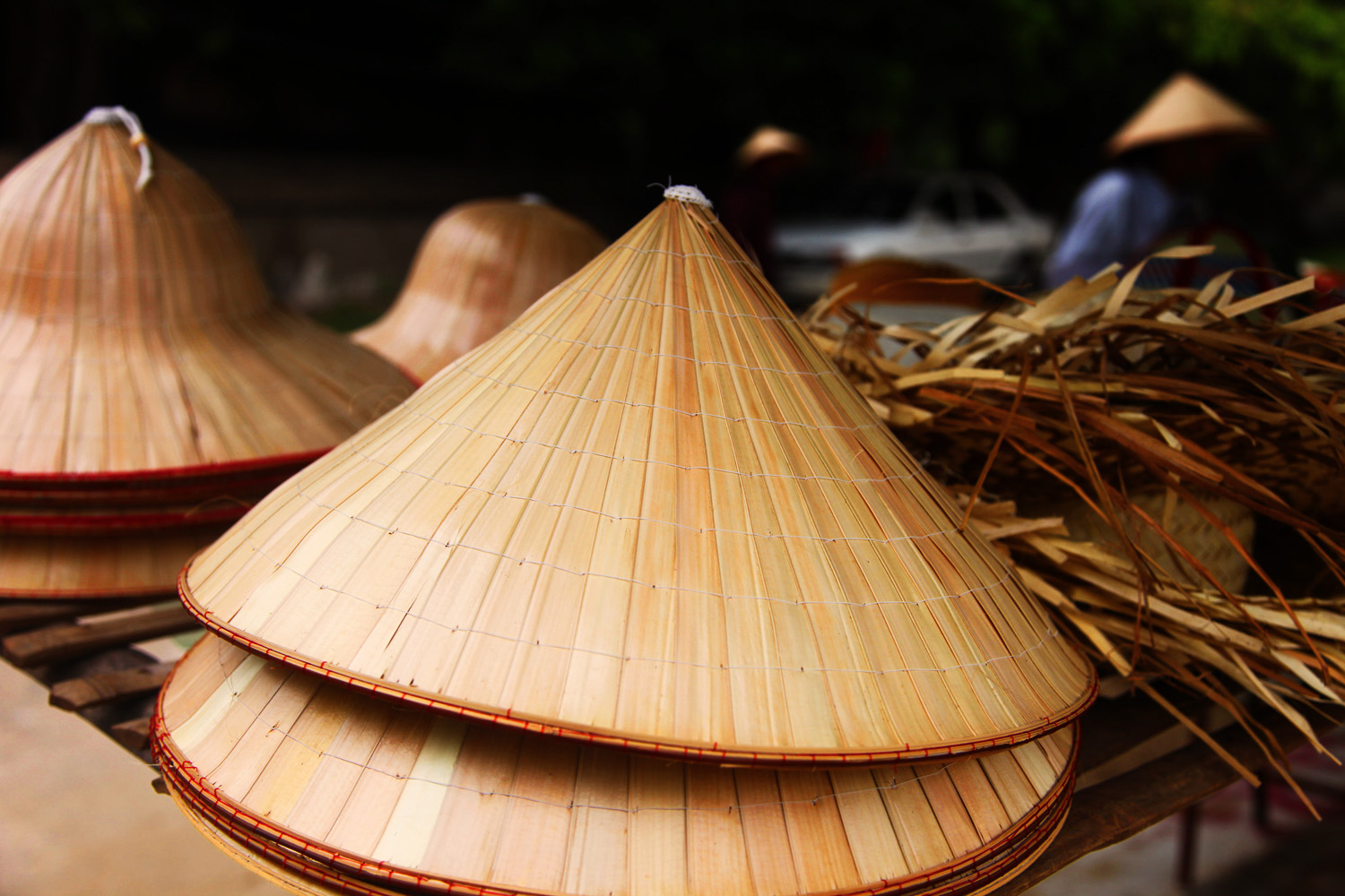 Vietnamese Conical Leaf Hat