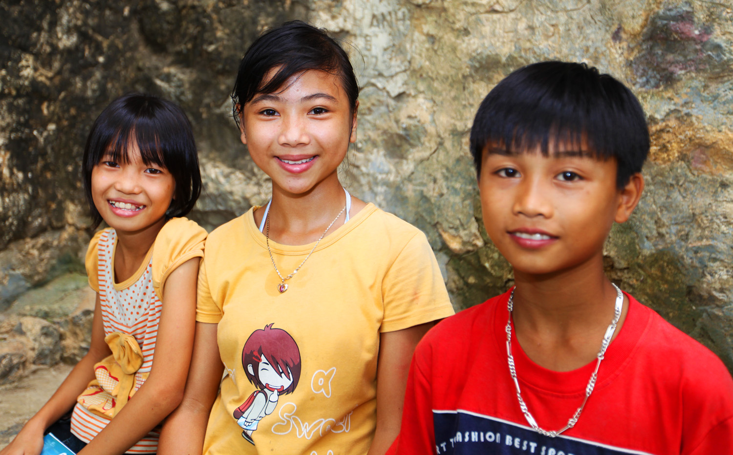 Children in Ninh Binh